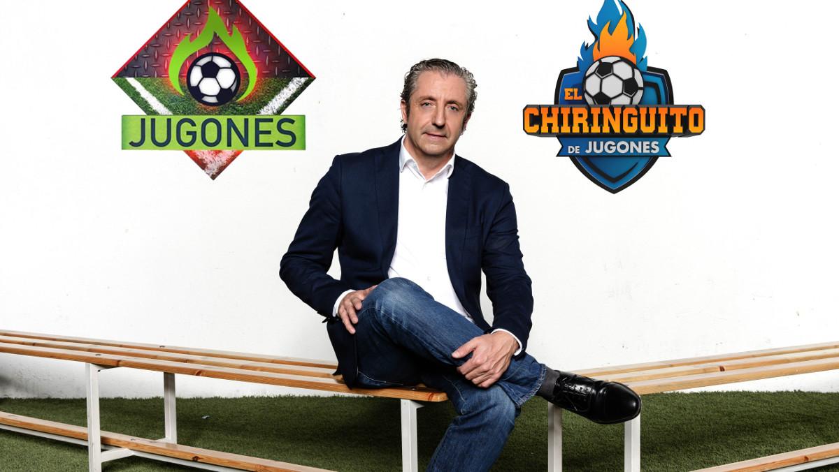 Josep Pedrerol, en una imagen promocional de sus programas en Atresmedia.