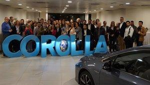 Toyota celebra 30 anys a Barcelona