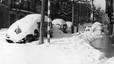 Los medios de transporte se vieron afectados por el temporal. Algunos vehículos quedaron sepultados bajo la nieve, y los tranvías y trenes de la ciudad quedaron bloqueados durante tres días.