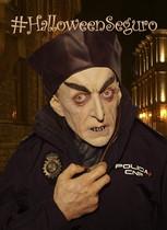 La Policía pide evitar el disfraz de payaso diabólico para un Halloween seguro