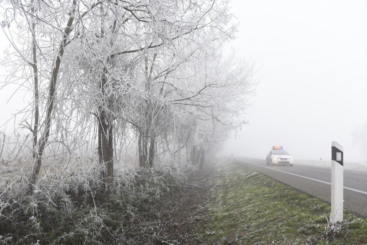 Probables bancos de niebla matinales en el interior de Galicia.