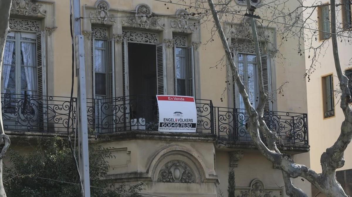 El preu de la vivenda descendeix en el primer trimestre a Espanya el 2,2%