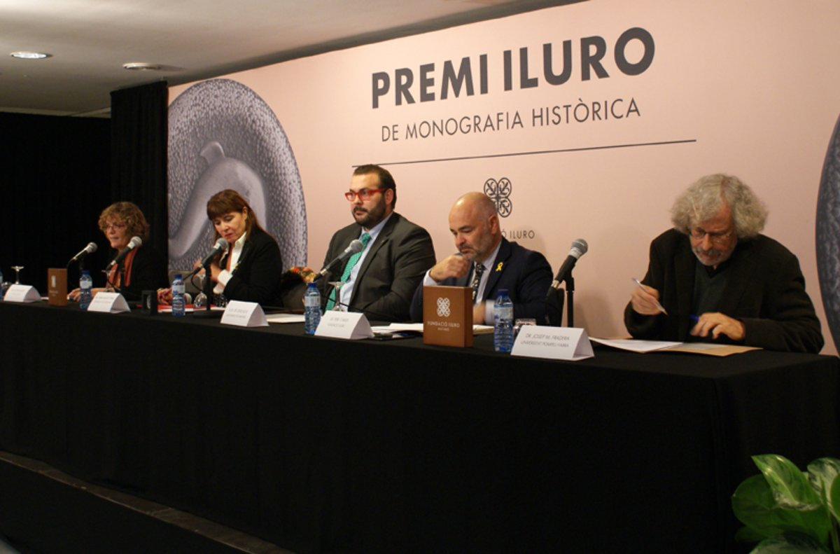Joan Giménez guanya el premi Iluro amb una monografia sobre la repressió franquista a Mataró