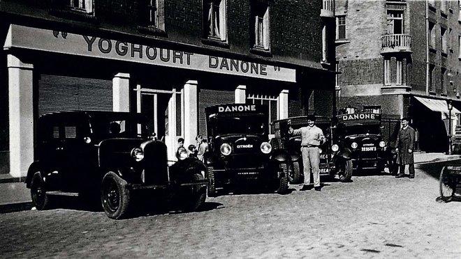 Imagen del archivo histórico de la marca.