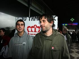 Estrasburgo da la razón a dos jóvenes que quemaron la foto del Rey en Girona