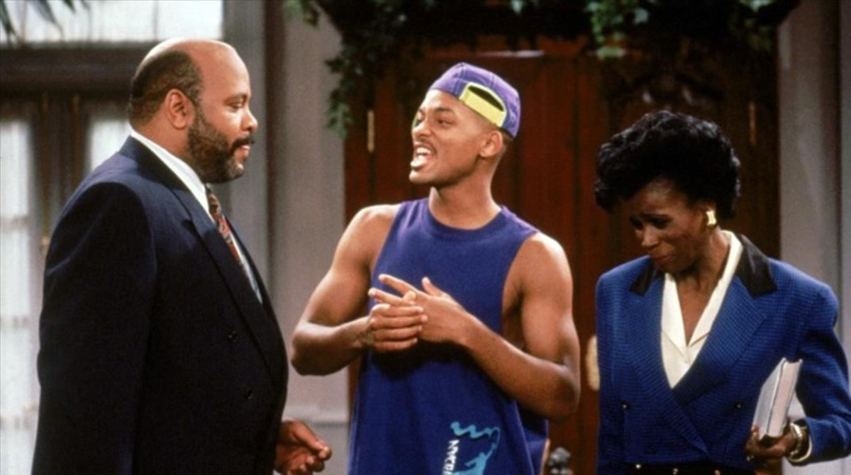 Will Smith i Janet Hubert fan les paus en el retrobament d''El príncep de Bel Air'