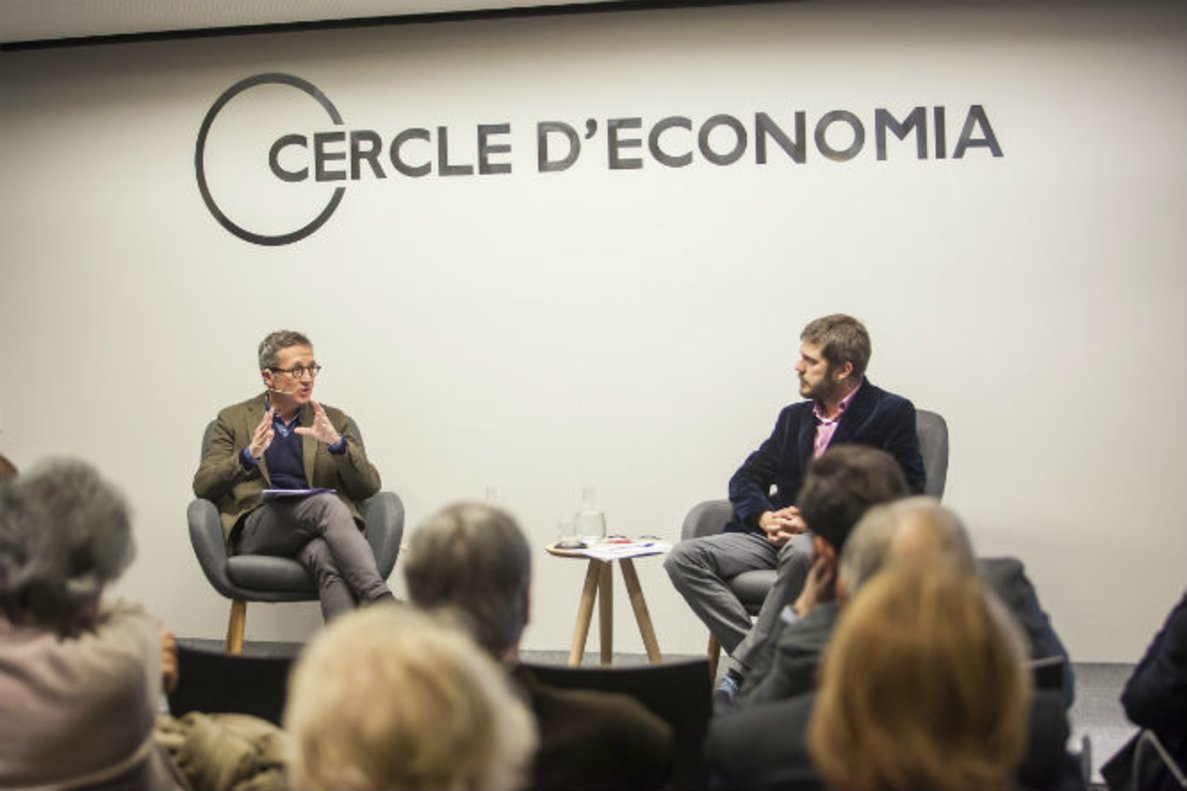 José María Lassalle, en el Círculo de Economía durante el ciclo cómo se salvan las democracias