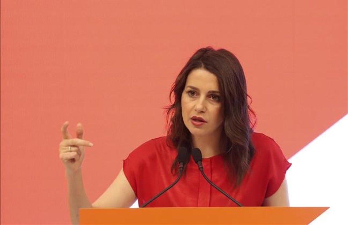 La dirigente de CiudadanosInés Arrimadas.
