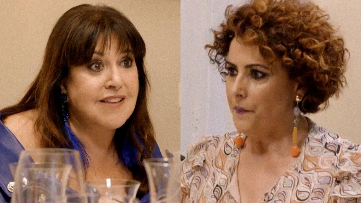 """El dardo de Loles León a Irma Soriano en 'Ven a cenar conmigo': """"¿Qué parte de 'cállate' no entiendes?"""""""