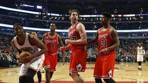 Los Bulls de Pau Gasol se quedan fuera de playoffs