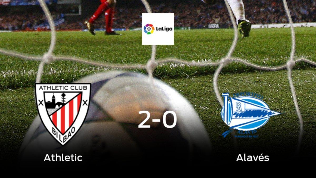 Los tres puntos se quedan en casa: Athletic 2-0 Alavés