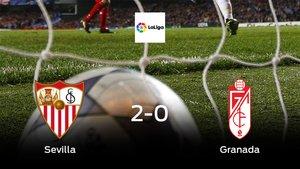 Los tres puntos se quedan en casa: Sevilla 2-0 Granada