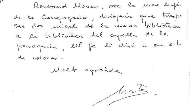 En ese extracto bancario figura la anotación de dos millones de pesetas, dado que está fechado en 1995.