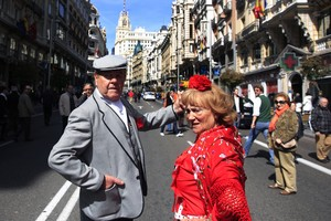 Madrid se viste de fiesta.
