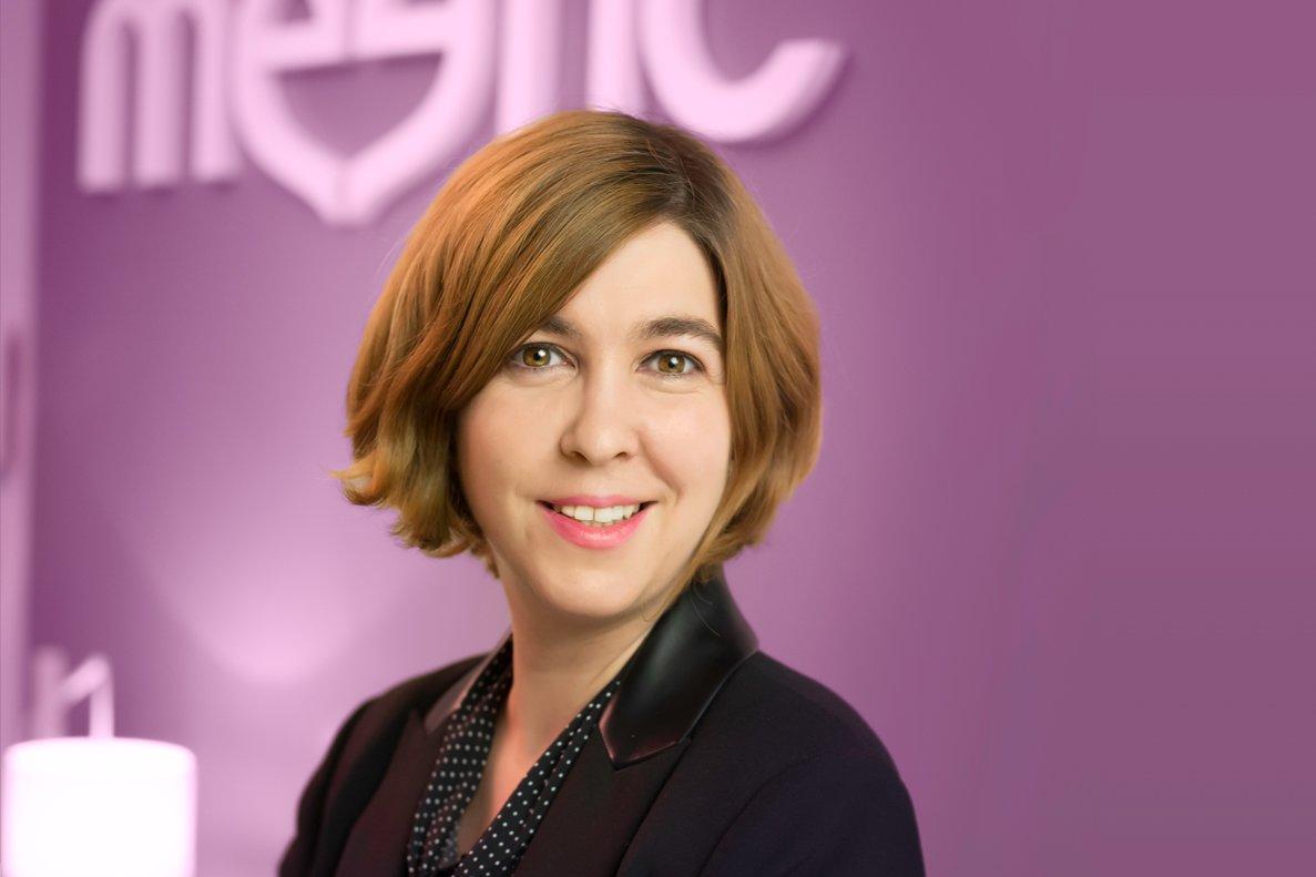 María Capilla es la responsable de Meetic para el mercado español