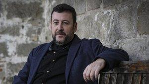 Mario Cuenca Sandoval, este lunes en Barcelona.