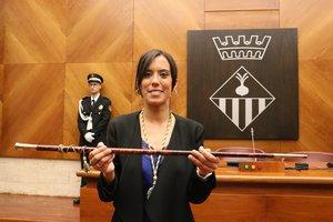 Marta Farrés, primera mujer alcaldesa de Sabadell.