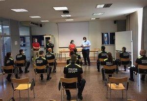 La policia local de Mataró incorpora 11 nous agents