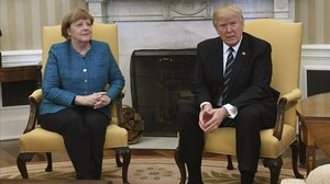 """Trump a Merkel, sobre l'espionatge d'Obama: """"Sembla que almenys tenim una cosa en comú"""""""