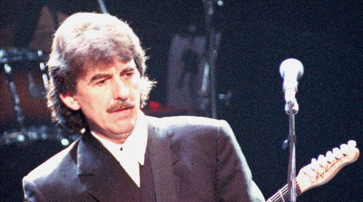 Una imagen de archivo de George Harrison.