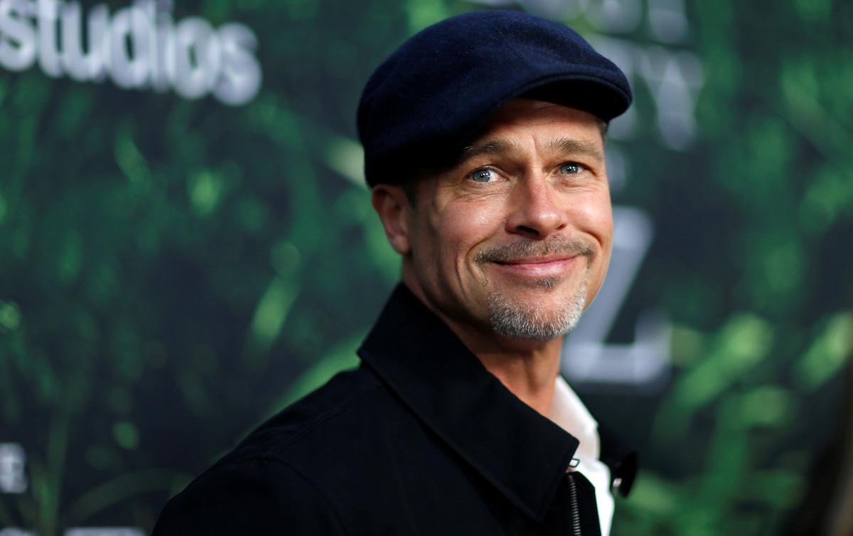 La media sonrisa de Brad Pitt y su aspecto bastante más delgado ha sorprendido a la prensa, en la presentación de La ciudad perdida de Z, en Los Ángeles.