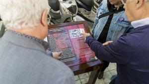Barcelona estrena un mapa interactiu per descobrir la memòria democràtica de la ciutat