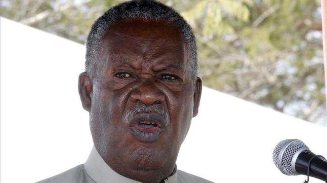 Michael Sata, en una imagen del 17 de mayo del 2013.