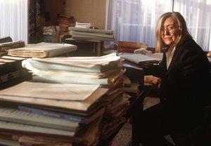 Milagros Calvo, primera magistrada en llegar al Alto Tribunal.