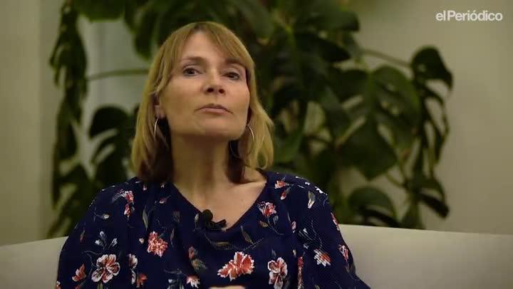 El minuto indiscreto de Lluïsa Moret, alcaldesa de Sant Boi, en el ciclo de entrevistas Los alcaldes hacen balance de EL PERIÓDICO.