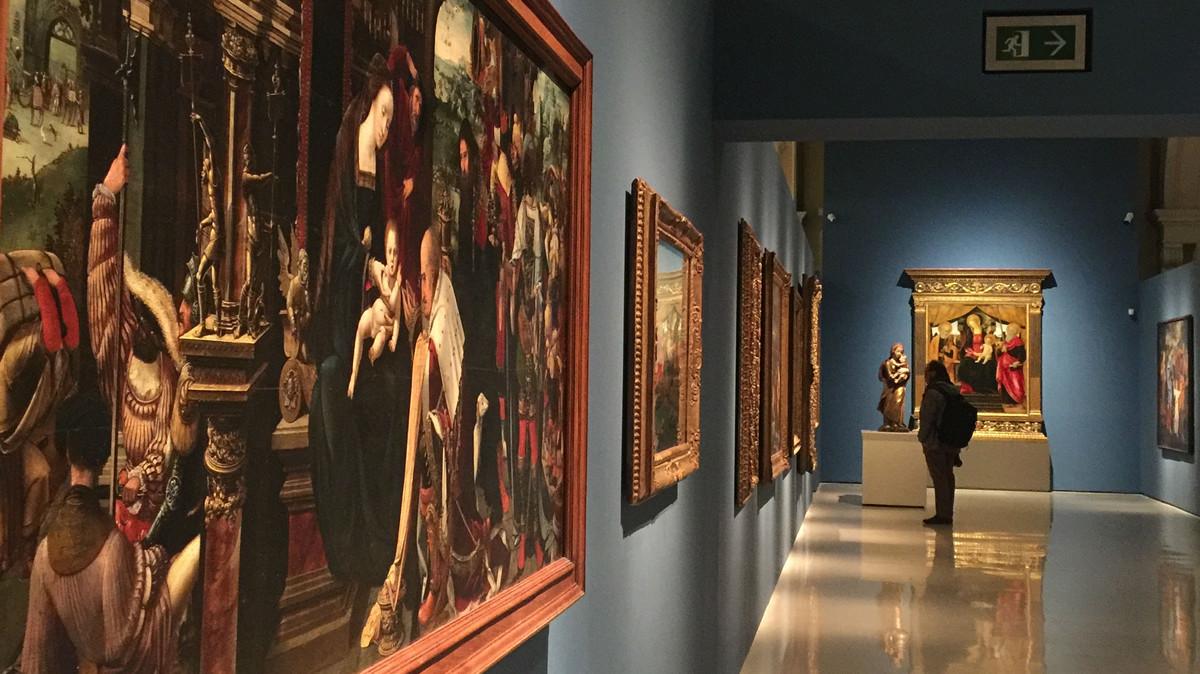 Una de las nuevas salas que expone la colección de renacimiento y barroco del MNAC.