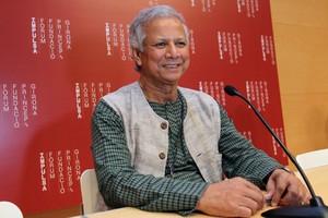 Mohamed Yunus, en el Forum Impulsa de la Fundación Príncipe de Girona, en agosto del 2010.
