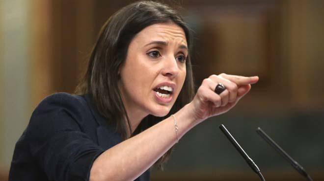 Irene Montero ha acusado al Gobierno de haber dinamitado todos los puentes con Catalunya.