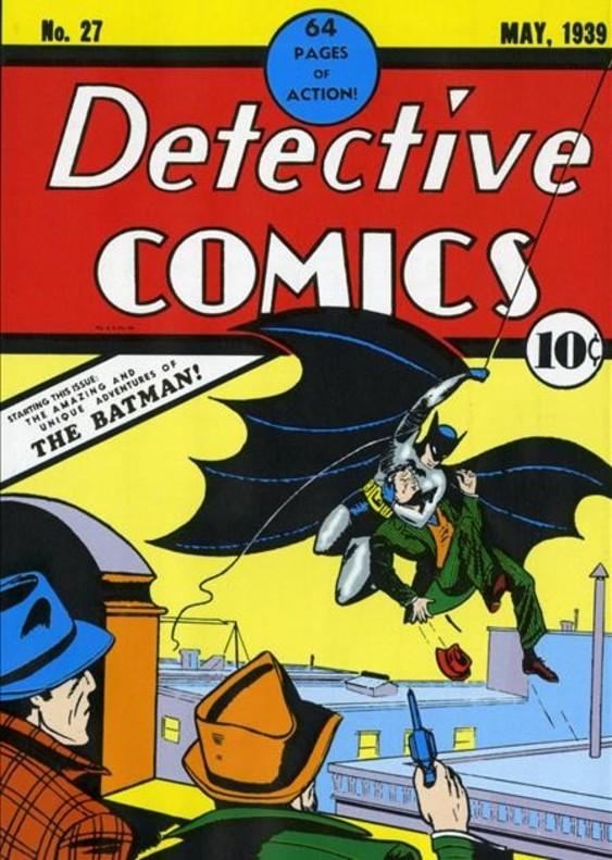 El número de 'Detective Comics' en el que aparecía por primera vez Batman, en mayo de 1939.
