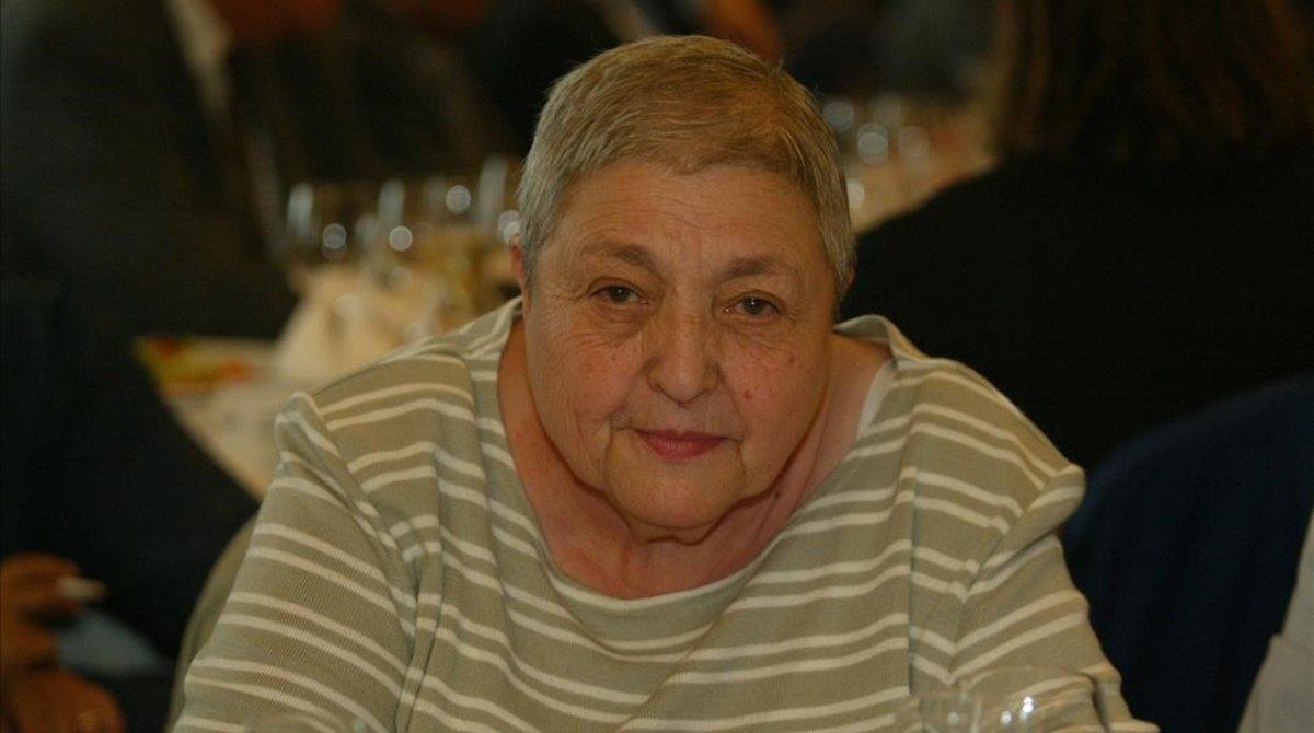Núria Gispert Feliu, en el 2005.