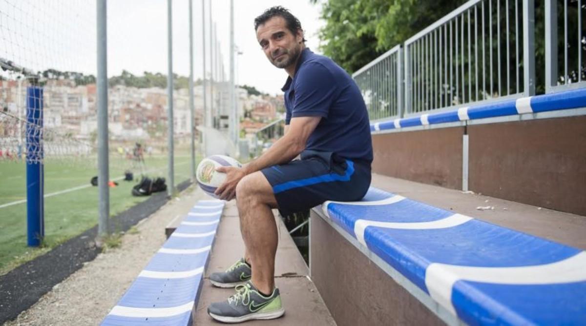 Pablo Tomás Tommy García volverá a la UE Santboiana tras su paso como entrenador por el FC Barcelona de Rugby