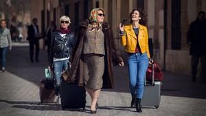 Una imagen de la segunda temporada de Paquita Salas, que produce Netflix.