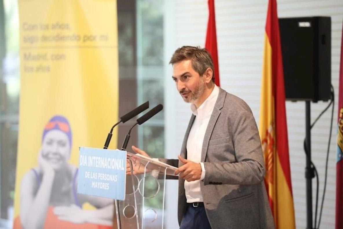 Pepe Aniorte, delegado de Familias, Igualdad y Bienestar Social del Ayuntamiento de Madrid.