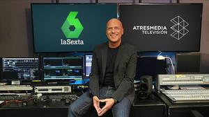 El periodista Alfonso Arús, en una imagen promocional de Atresmedia.