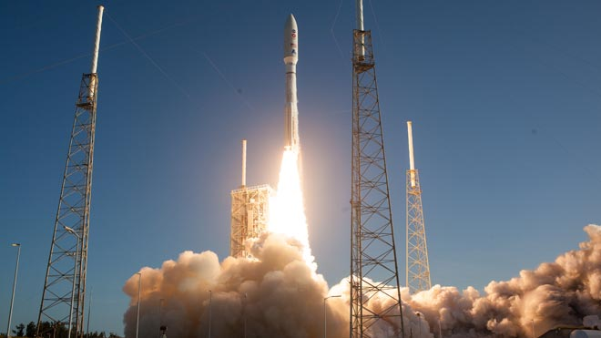 La NASA llança el seu 'Perseverance' per portar roques de Mart a la Terra