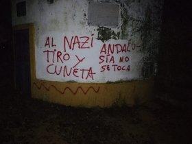 Pintadas en la finca de Morante de la Puebla.