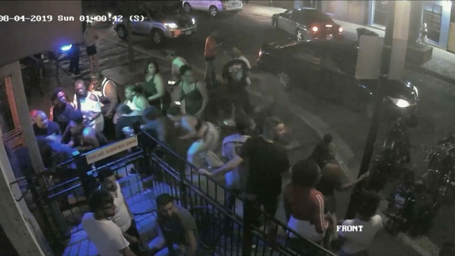 La policía de Dayton difunde un vídeo del tiroteo que dejó 10 muertos.