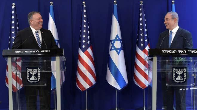 Pompeo escenifica a Jerusalem l'aval dels EUA al nou Govern d'Israel