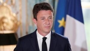El portavoz del Gobierno francés, Benjamin Griveaux, el miércoles 3 de enero.
