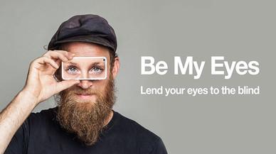 """Be My Eyes, la 'app' que te permite """"ser los ojos"""" de una persona ciega"""