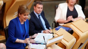 La primera ministra escocesa, Niocola Sturgeon.