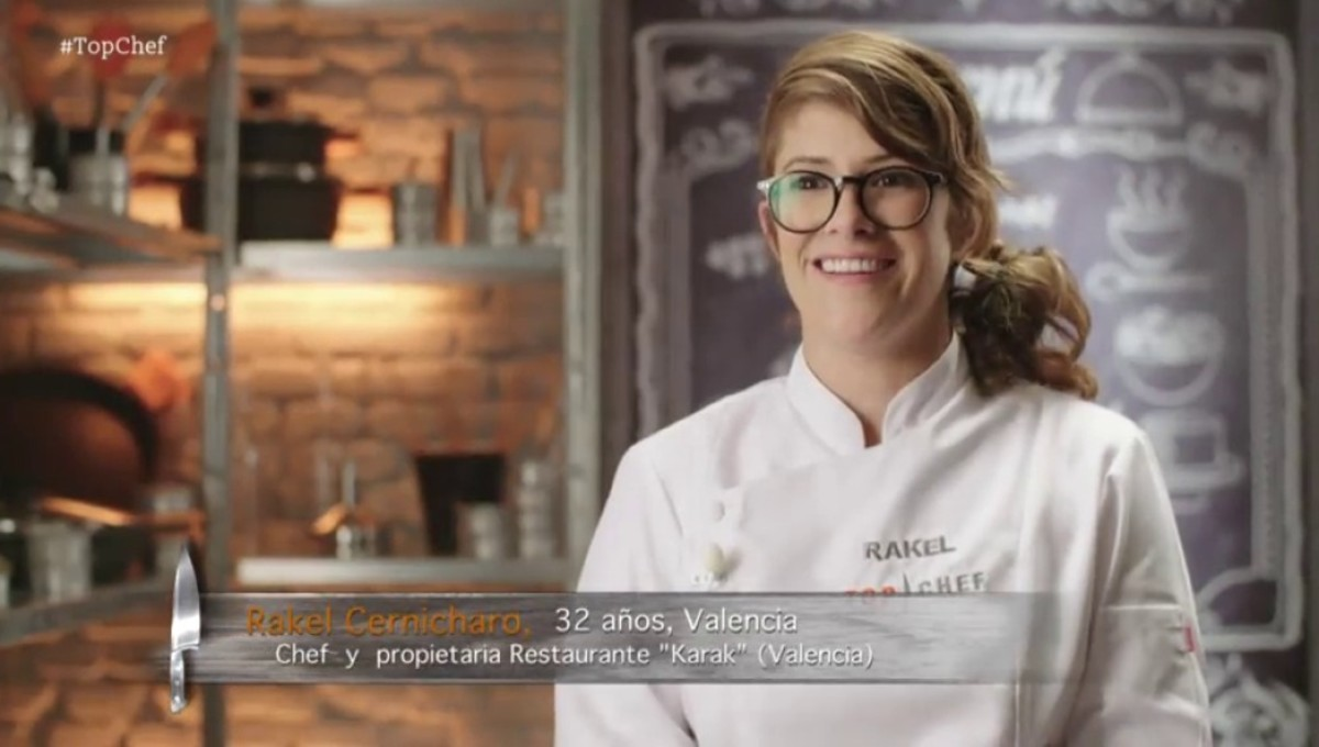 Rakel, la ganadora de Top chef 4.