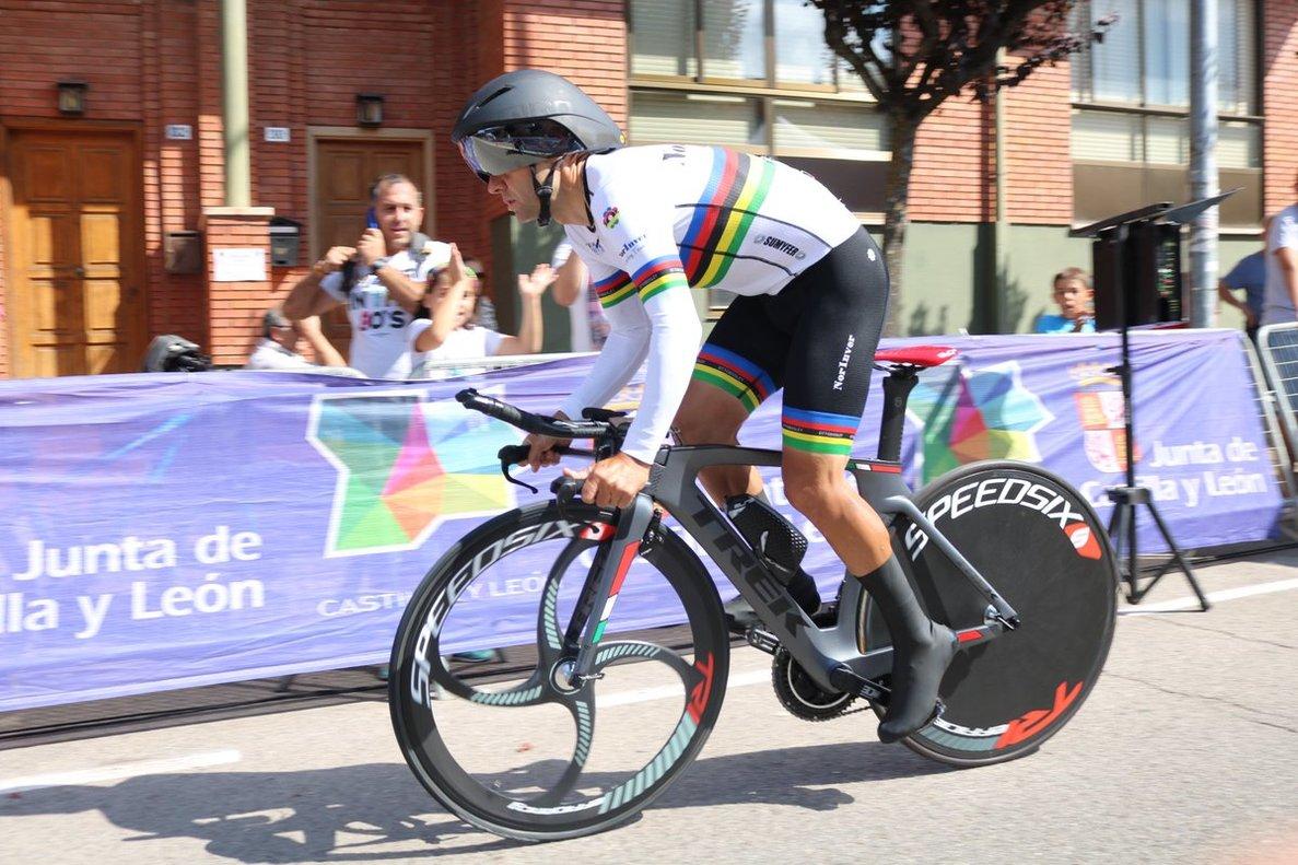 Raúl Portillo, en los campeonatos de España para veteranos del año pasado.