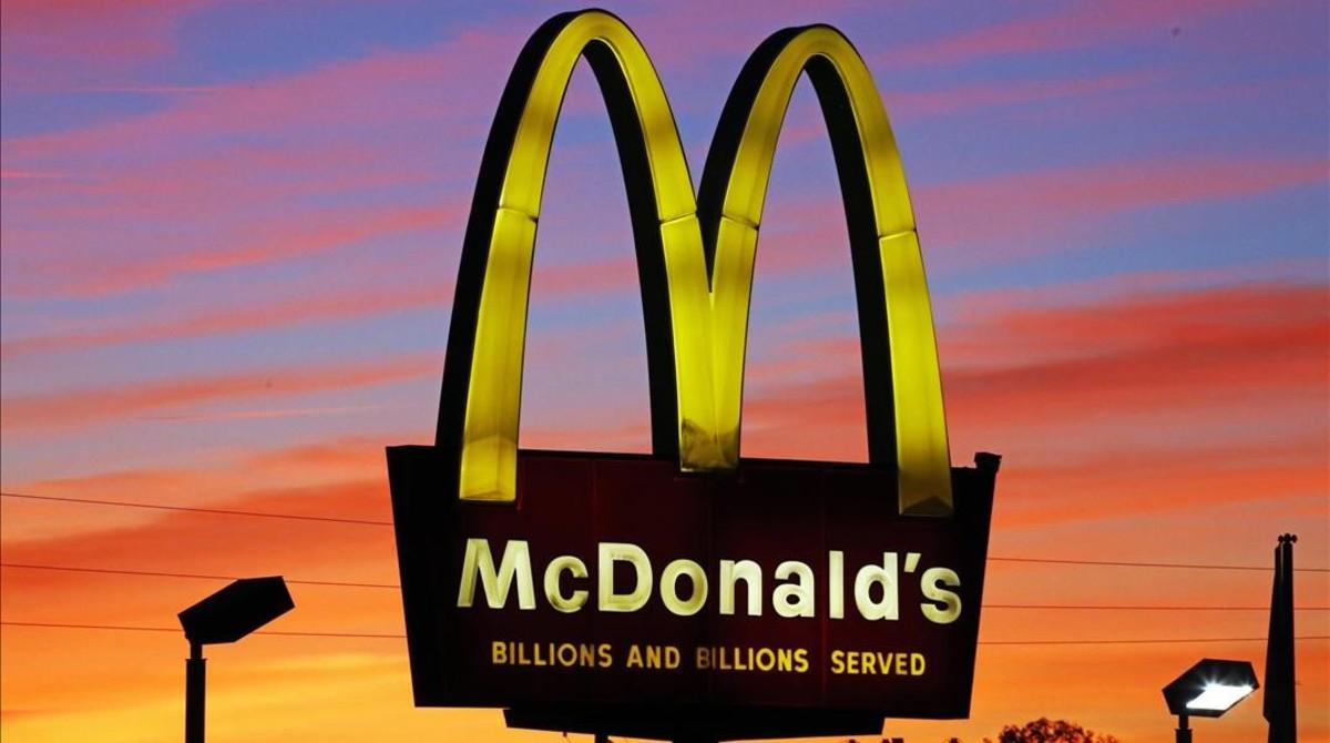 Restaurante McDonalds en Ebensburg, Pensilvania.
