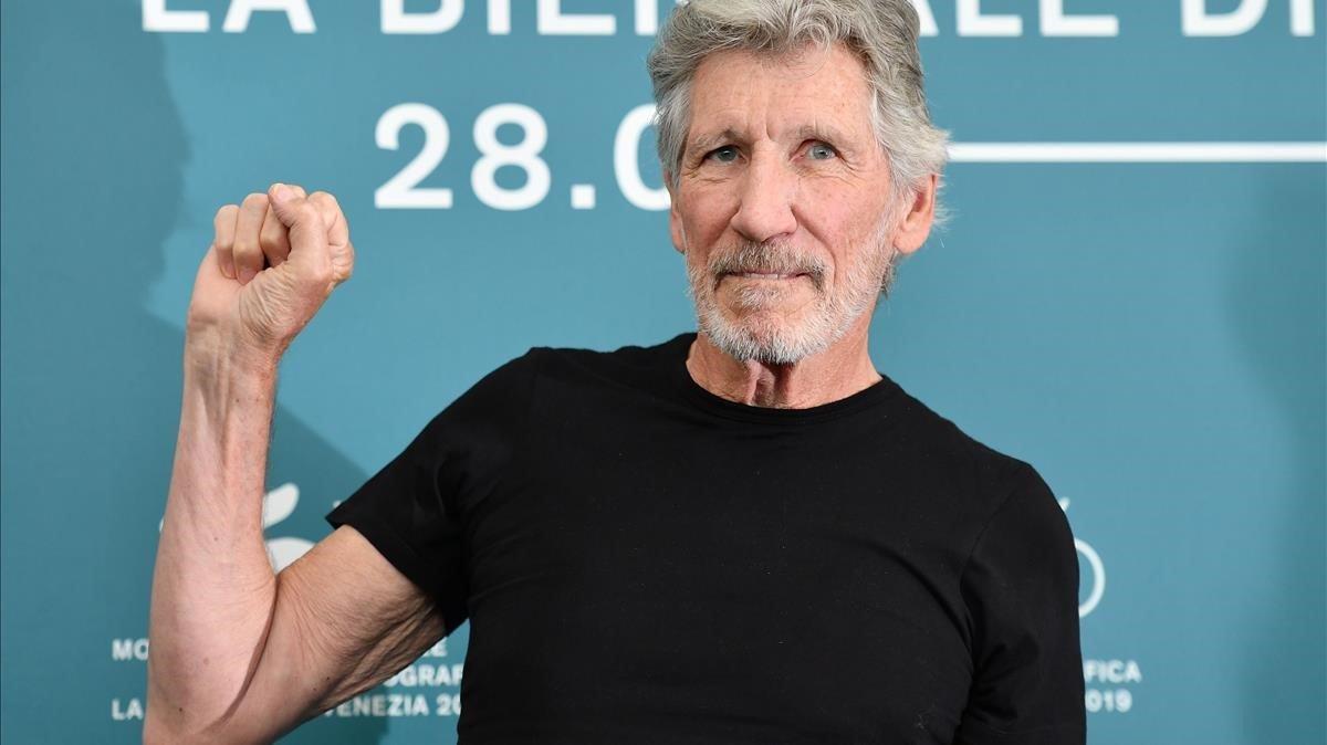 Roger Waters, tras la presentación de 'Us+Them' en la Mostra de Venecia
