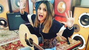 Sabela en una fotografía de su Instagram.